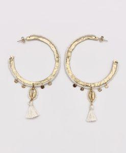 Bijoux Fantaisies Boucles d'Oreilles Hipanema Mahy