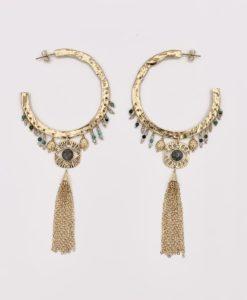 Bijoux Fantaisies Boucles d'Oreilles Hipanema Cloe