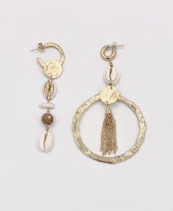 Bijoux Fantaisies Boucles d'Oreilles Hipanema Fujita