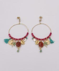 Bijoux Fantaisies Boucles d'Oreilles L'Atelier des Dames Frida