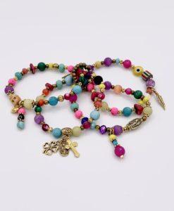 Bijoux Fantaisies Bracelet T'as Vu La Vierge Sun