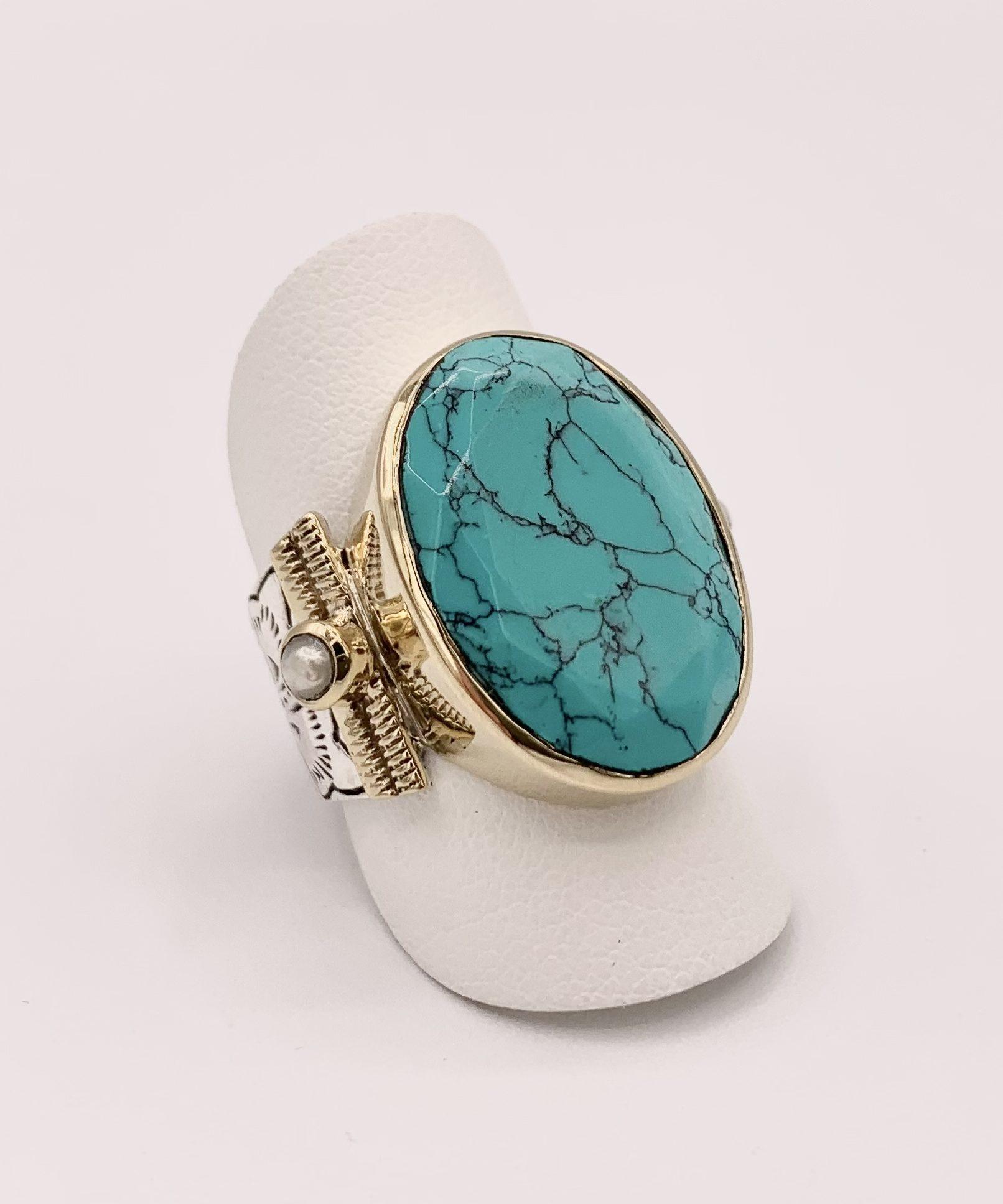 Bague Canyon Gabin | Marie K boutique de bijoux en argent