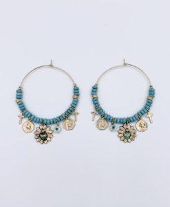 Bijoux Fantaisies Boucles d'Oreilles Bee Valentina Santorin