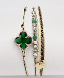 Bijoux Fantaisies Bracelet Lo et Ma Clover