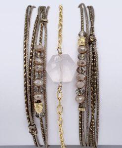 Bijoux Fantaisies Bracelet Lo et Ma Hexagone 5