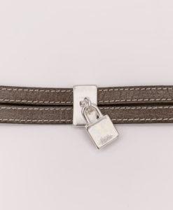 Bijoux Fantaisies Bracelet Secret de Cuir Cadenas 3