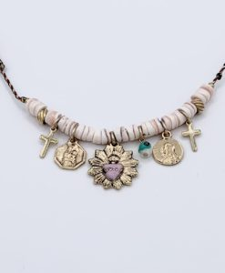 Bijoux Fantaisies Collier Bee Valentina Santorin Rose